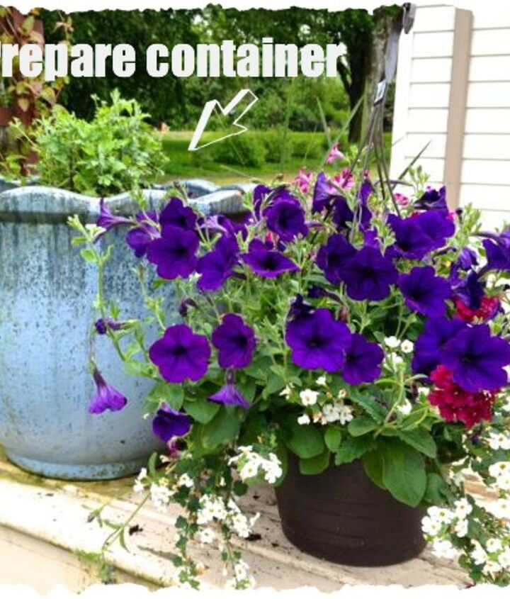 3 simple steps to create gorgeous containers, container gardening, gardening