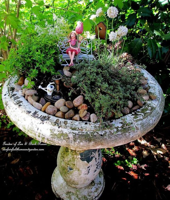 Mother's Day Fairy Garden