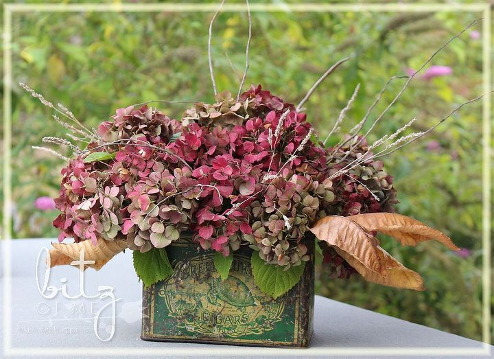 diy fall floral arrangements, gardening