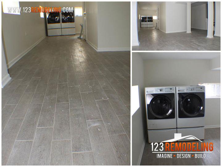 basement refinishing oak park, basement ideas, flooring, home improvement