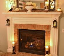 slightly spooky yet oh so chic halloween mantel, fireplaces mantels, halloween decorations, home decor, seasonal holiday decor, Spooky Chic Halloween Mantel