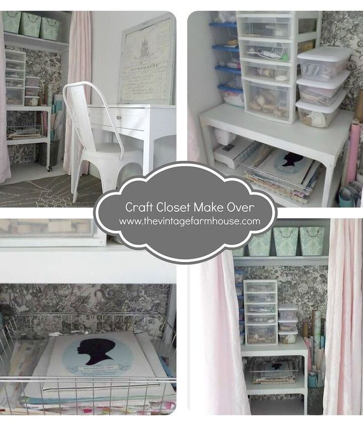 craft closet, cleaning tips, closet, craft rooms, home decor, repurposing upcycling, storage ideas