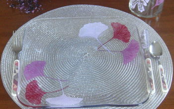Painting Glass Plates for Décor & Entertaining