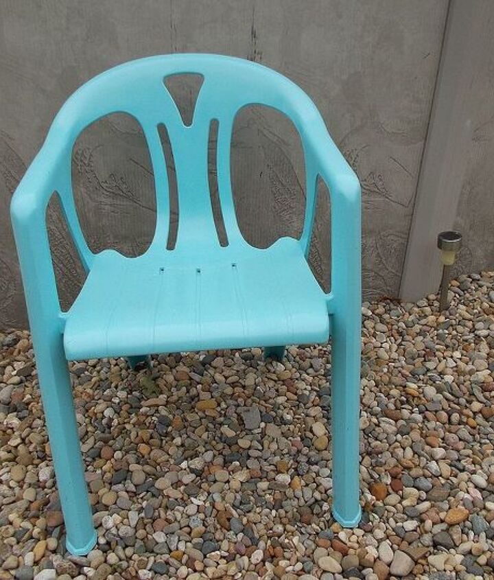 traded my daughter my patio chairs for her patio chairs
