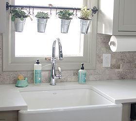 remodeled kitchen using original cabinets with diy custom doors home decor home improvement remodeled kitchen using original cabinets with diy custom doors      rh   hometalk com