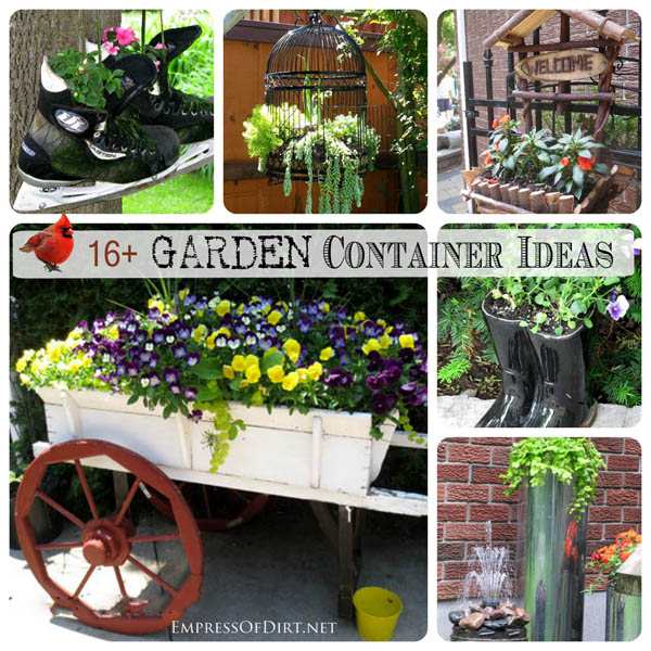 More here: http://www.empressofdirt.net/more-garden-container-ideas/