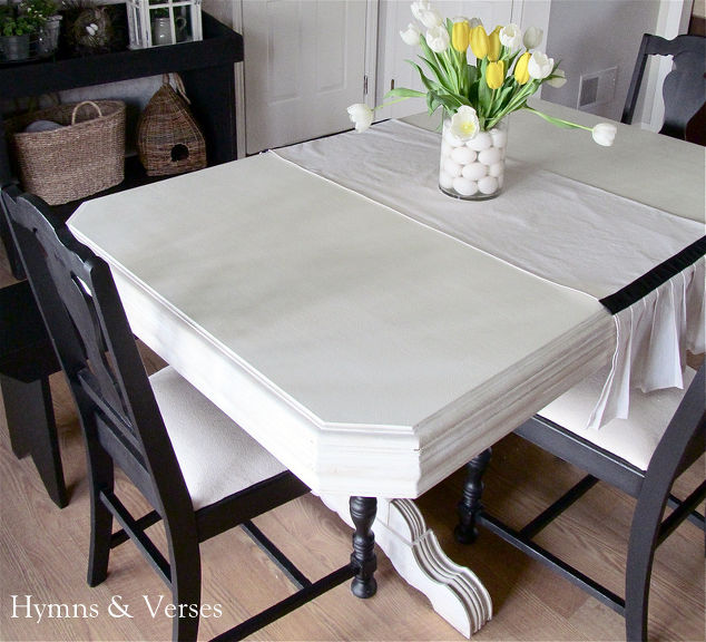 My 40 Yard Sale Dining Room Table Amp Chairs Chalk Paint Painted Furniture