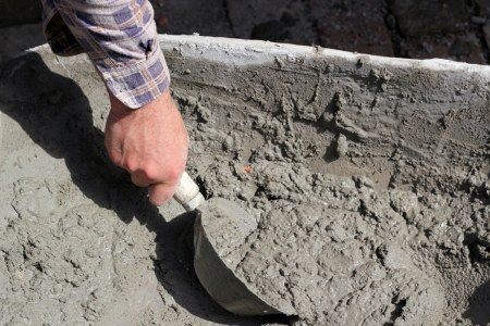 what is the difference between concrete and cement, concrete masonry, home maintenance repairs