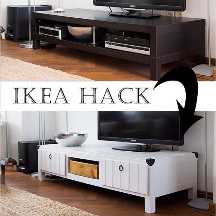 Ikea Hack TV Stand Makeover | Hometalk