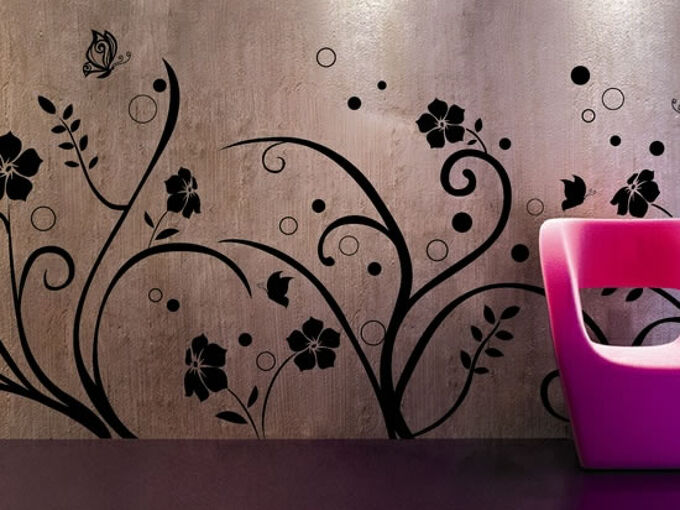 wall stencils designs, painting, wall decor, 20 wall stencils to inspire your interior design