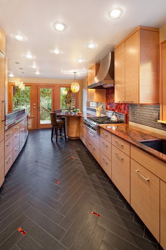 kitchen flooring wood vs tile hometalk