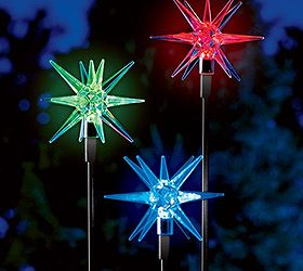 Solar Garden Accent Lights, Gardening, Go Green, Landscape, Lighting,  Outdoor Living