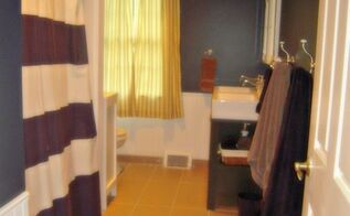a boys bathroom makeover, bathroom ideas, home decor, home improvement, Finished project from