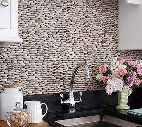 Kitchen Backsplash Ideas, Kitchen Backsplash, Kitchen Design, Tiling, Stack  Smooth Stones