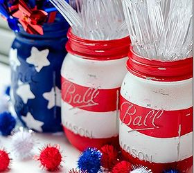 4 Minute 4th Of July Decorations, Patriotic Decor Ideas, Seasonal Holiday D  Cor,