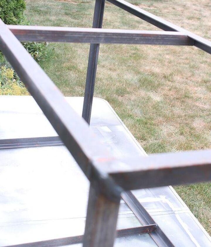 the welded frame
