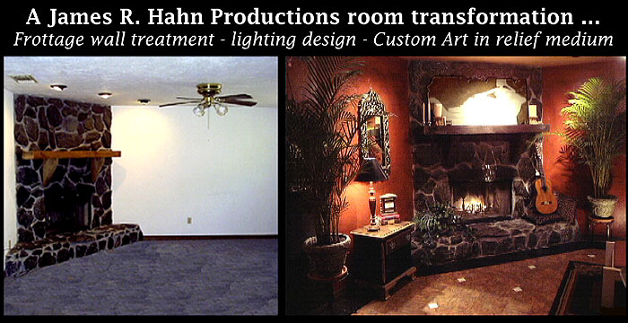 don t be afraid of color but light it correctly, lighting, A James R Hahn Productions budget transformation