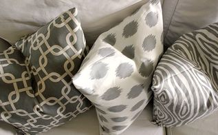 the 10 minute diy pillow cover, crafts, home decor