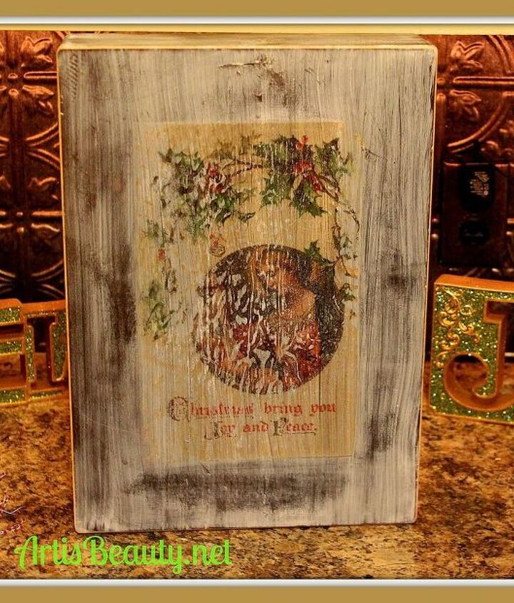 image transfer to wood using iron on paper, crafts