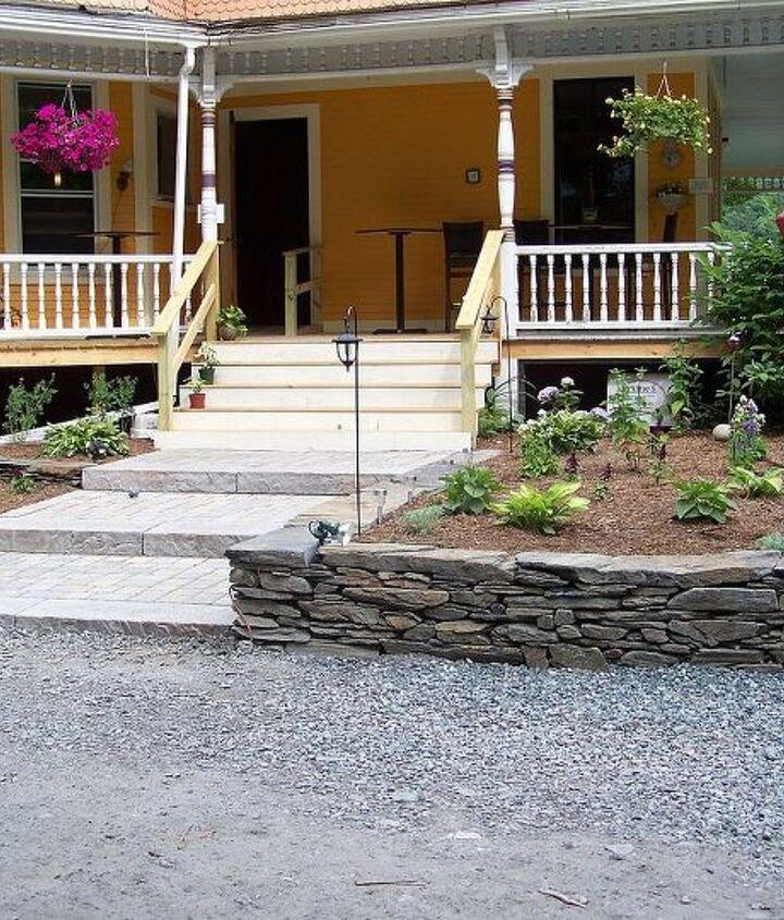 Tech-o pavers. wallwork, posts