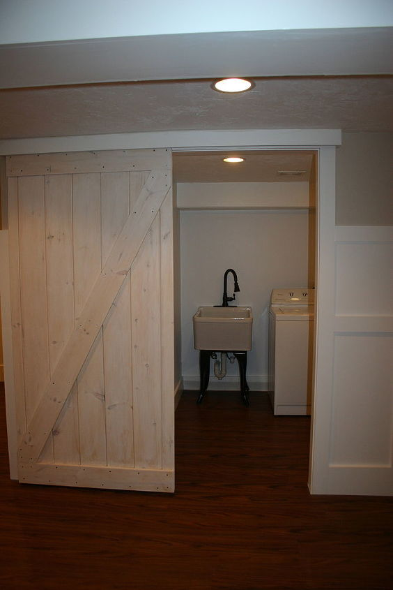 Barn Door Using A Closet Track Hometalk