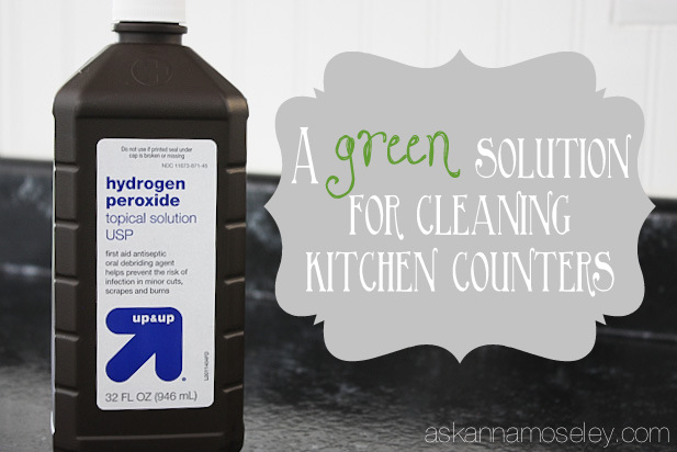 Use it to clean and sanitize the kitchen counters.