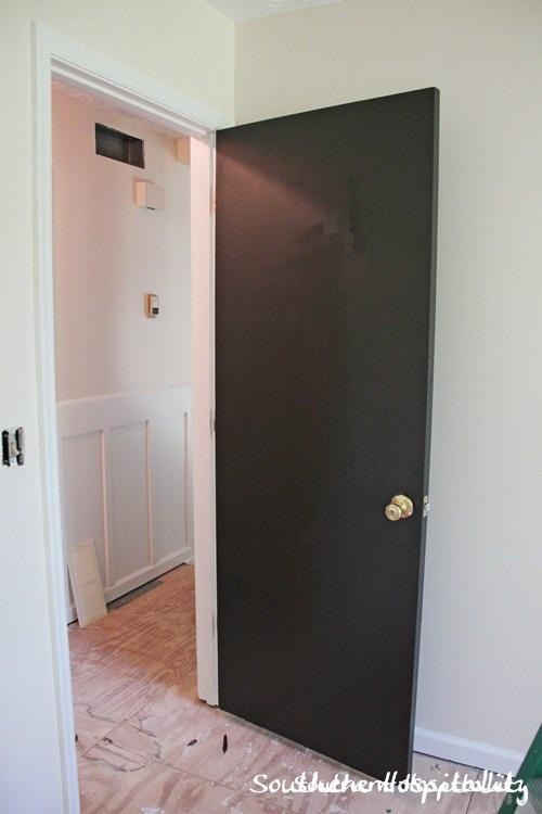 Very Best Painting Interior Doors Dark Brown Black Hometalk Xy58