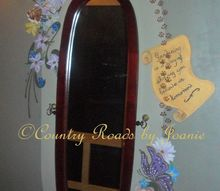 standing mirror to decorated wall mirror, painted furniture