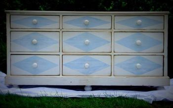 Adding Details to a Painted Dresser