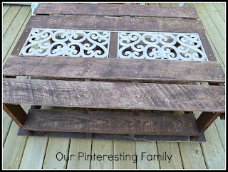 pallet coffee table, outdoor furniture, painted furniture, pallet, Pallet Coffee Table