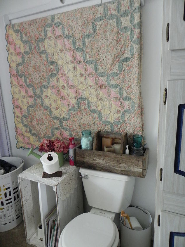 repurposed vintage bathroom, bathroom ideas, cleaning tips, organizing, painting, repurposing upcycling