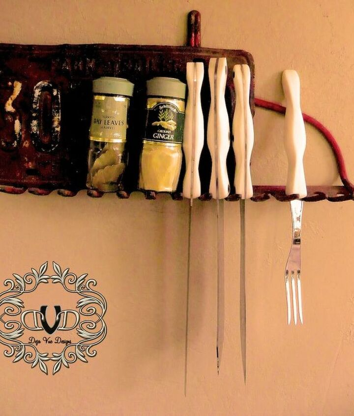 How bout a knife/spice rack for the kitchen?
