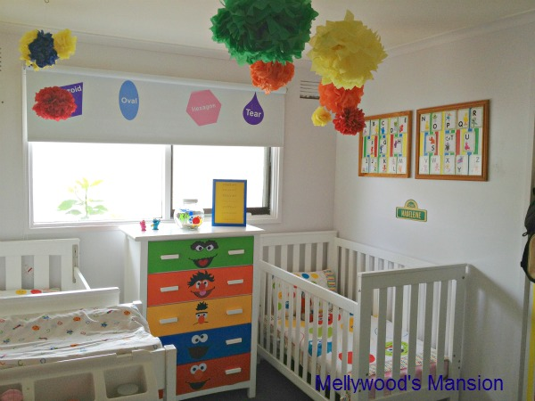 Sesame Street Nursery Bedroom Ideas Home Decor Themed For A