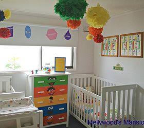 Genial Sesame Street Nursery, Bedroom Ideas, Home Decor, Sesame Street Themed  Nursery For A