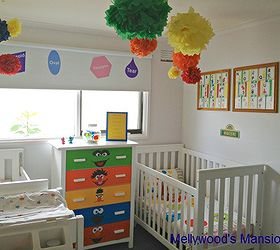 Attirant Sesame Street Nursery, Bedroom Ideas, Home Decor, Sesame Street Themed  Nursery For A