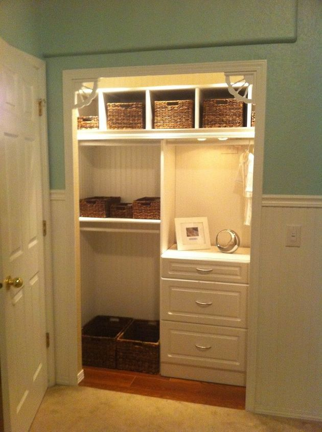 q small nursery open up the closet we were looking for creative and practical ways to, closet, electrical, home decor, After