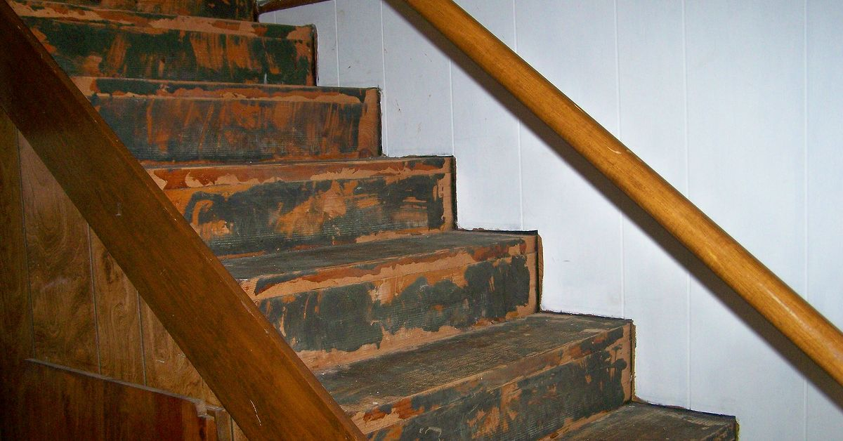 I Took Old Carpet Off Basement Stairs And Now I Need