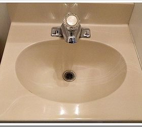 I Painted The Bathroom Sink, Bathroom Ideas, Home Decor, Painting, Bathroom  Sink Photo
