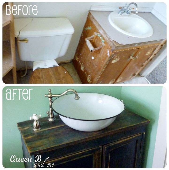 Small Bathroom Remodel On A Budget Ideas Home Decor Sink Before And After