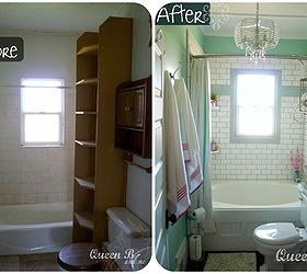 Awesome Small Bathroom Remodel On A Budget, Bathroom Ideas, Home Decor, Small  Bathroom Ideas