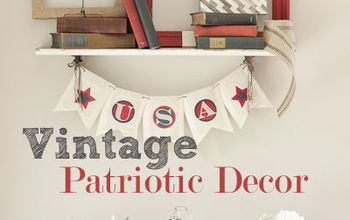 the secret to creating a vintage patriotic vignette, patriotic decor ideas, repurposing upcycling, seasonal holiday d cor, How to create a vintage patriotic vignette in your home