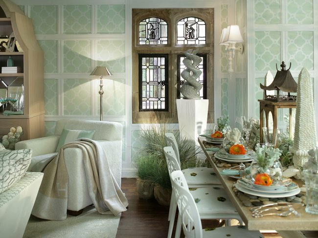the hermes room at the nj designer showhouse, home decor