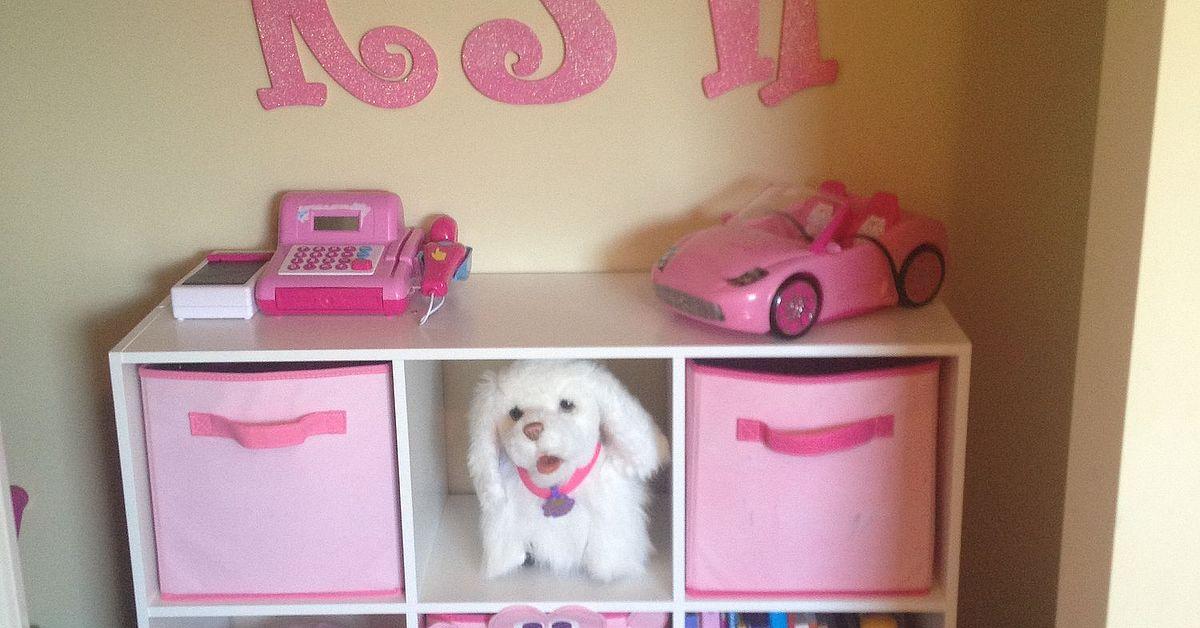 Closet Organization for Little Girl\'s Room | Hometalk