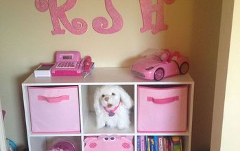 closet organization for little girl s room, bedroom ideas, closet, home decor, organizing, A cubbie storage system is used to organize my daughter s books movies and toys