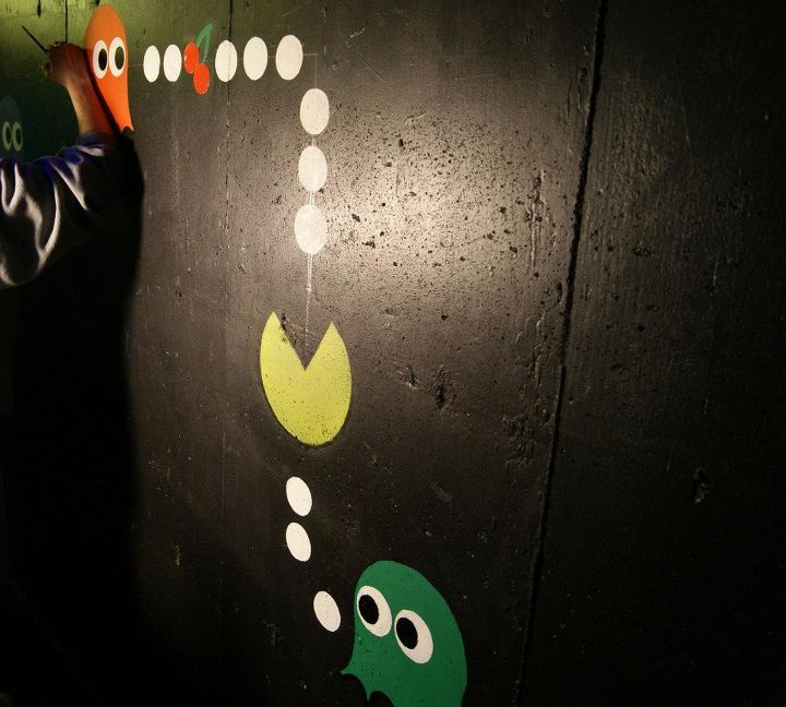 kids cave, basement ideas, diy, entertainment rec rooms, paint colors, painting, wall decor