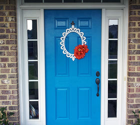 I Love Color And Nothing Says Fun Like A Bright Blue Front Door