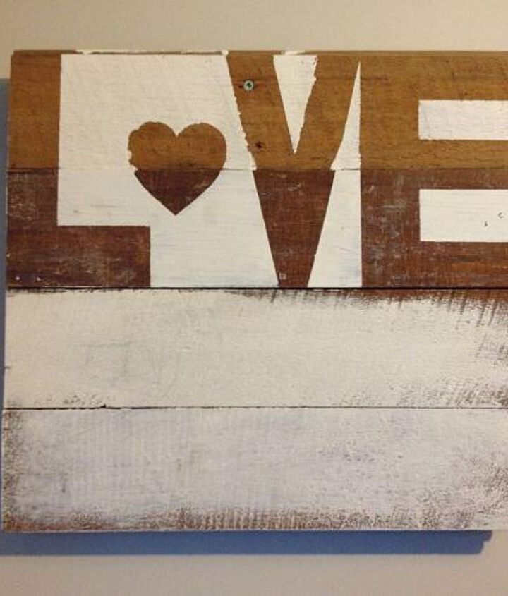 'love' wall hanging - full tutorial coming to my blog this week!
