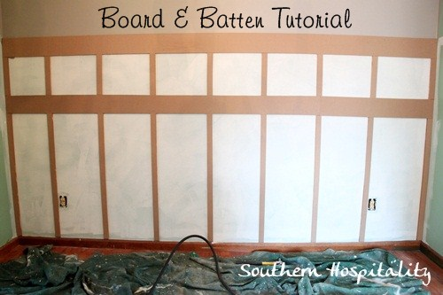 Diy Tutorial For Board Amp Batten Dining Room Ideas Home Decor