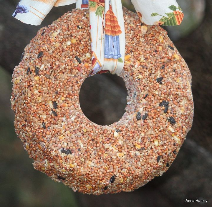 bird seed wreath, crafts, wreaths