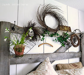 Awesome How To Create Your Own Headboard From Junk, Bedroom Ideas, Crafts, Doors,